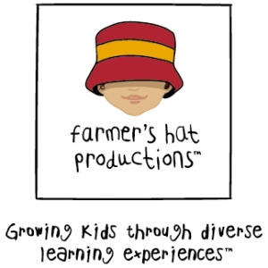 Farmer's Hat Productions Logo and Tagline
