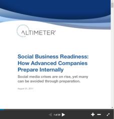 Social Business Readiness How Advanced Companies Prepare