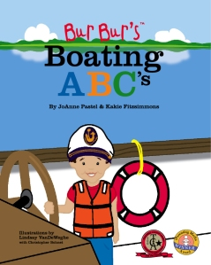 Bur Bur's Boating ABC's Cover