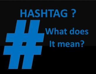 Answer to What is a Hashtag