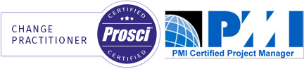 Kakie Fitzsimmons Prosci-Certified-Change-Practitioner PMI Certified Project Manager