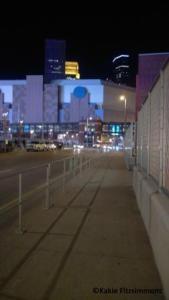 The Purple Skyline of Downtown Minneapolis